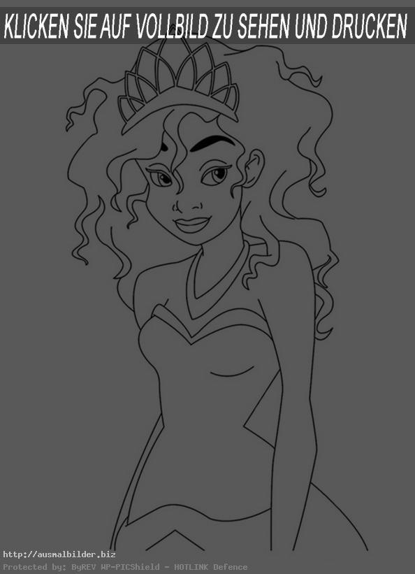 Prinzessin mit Krönchen
